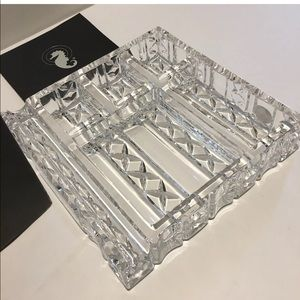 Waterford Crystal Executive Desk Tray Jewelry Org.